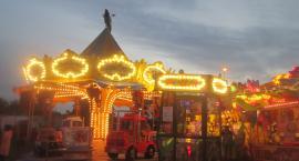 Wesołe miasteczko Lunaparku Krasnal ponownie w Inowrocławiu