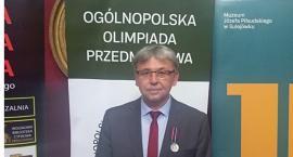 Medal dla nauczyciela z Konopy