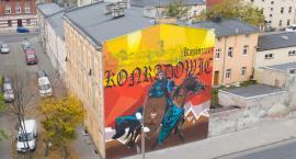 Mural przy ul. Staszica zostanie oświetlony
