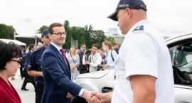 Reprezentant kruszwickiej Policji w Warszawie