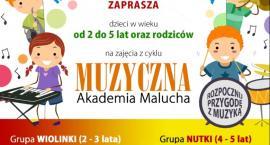 Muzyczna Akademia Malucha – zapisy!