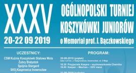 Od piątku XXXV Memoriał prof. Bączkowskiego