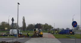 Rozpoczęto montaż doświetleń przejść dla pieszych