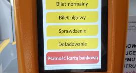 W autobusach za przejazd można zapłacić kartą