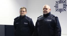 Policjanci i przypadkowy kierowca ruszyli na pomoc dwóm kobietom