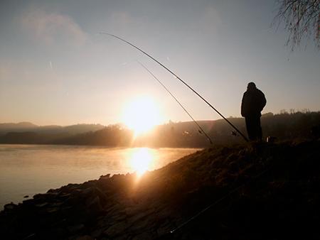 Jak łowić ryby - techniki , Ciężka gruntówka - zdjęcie, fotografia