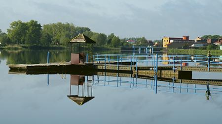 Zbiornik zaporowy, Zalew Miasto - zdjęcie, fotografia