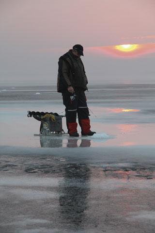 Zbiornik zaporowy, sulejowskiej tafli - zdjęcie, fotografia