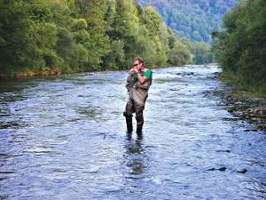 Rzeka, Perełka Beskidu Niskiego rzeka - zdjęcie, fotografia