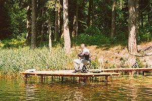 Jezioro, Jezioro Żabinki Eldorado - zdjęcie, fotografia