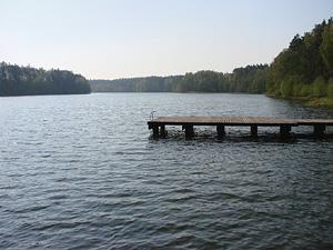 Jezioro, Jezioro Mielno - zdjęcie, fotografia