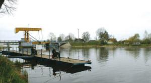 Rzeka, Szkarpawa - zdjęcie, fotografia