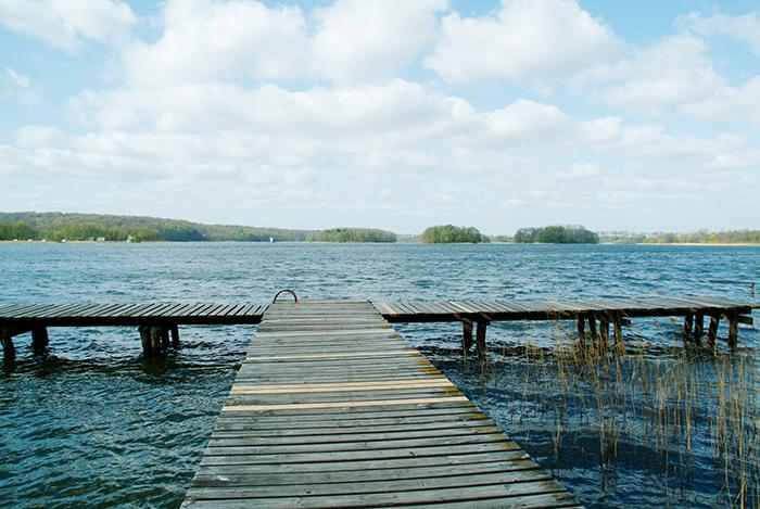 Jezioro, Jezioro Barlineckie - zdjęcie, fotografia