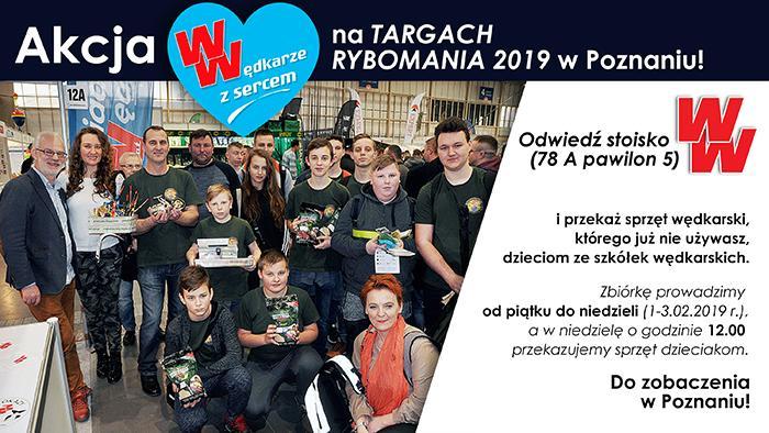 Targi wędkarskie, Wędkarze Sercem Rybomani Poznaniu - zdjęcie, fotografia