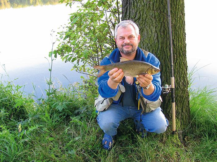 Jak łowić ryby - techniki , Metody gruntowe Rzeka tajemnic - zdjęcie, fotografia