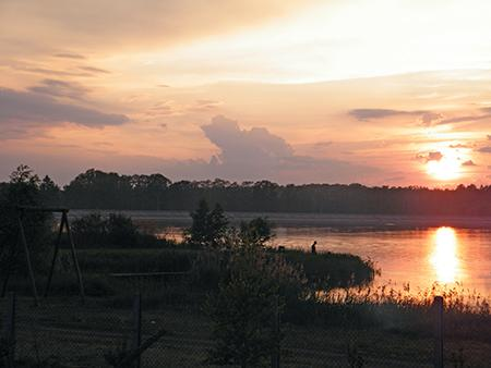 Zbiornik zaporowy, Zbiornik Murowaniec gminie Koźminek - zdjęcie, fotografia