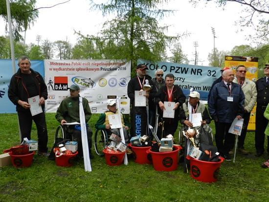 Mistrzostwa Polski, Spławikowe Mistrzostwa Polski Osób Niepełnosprawnych Pruszków - zdjęcie, fotografia