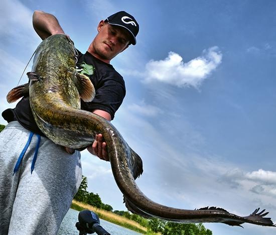 Jak łowić ryby - techniki , Polowanie dryfie - zdjęcie, fotografia