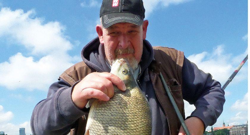 Jak łowić ryby - techniki , Leszcz warszawsku - zdjęcie, fotografia
