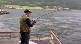 Sto lat czekał na rekord - norweski łosoś