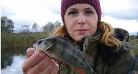 Grudniowa rzeka i łowienie batem