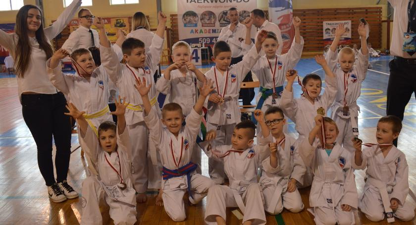 taekwondo, Sobota taekwondo zdjęcia mistrzostw Mazowsza - zdjęcie, fotografia