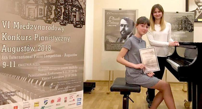 sukcesy, Witulska laureatką konkursu pianistycznego - zdjęcie, fotografia