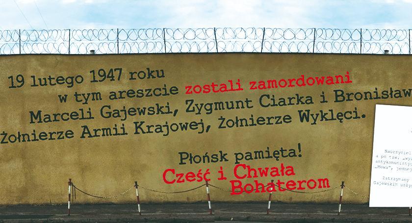 historia, płońskim areszcie powstanie mural - zdjęcie, fotografia