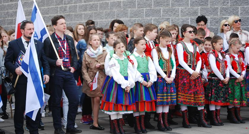 uroczystości, Płoński Marsz Żywych - zdjęcie, fotografia