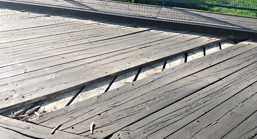 interwencje, Bijemy alarm mostu Jońcu chyba zagraża bezpieczeństwu! - zdjęcie, fotografia