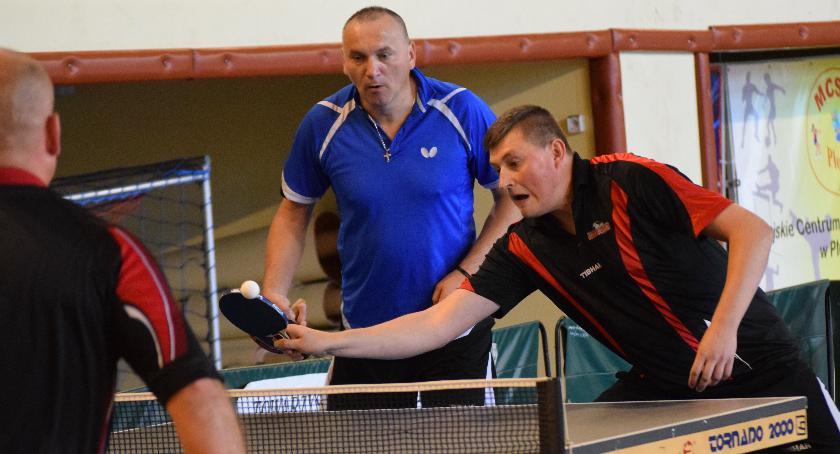 tenis stołowy, Mistrzostwo debla Wachol Podolski - zdjęcie, fotografia