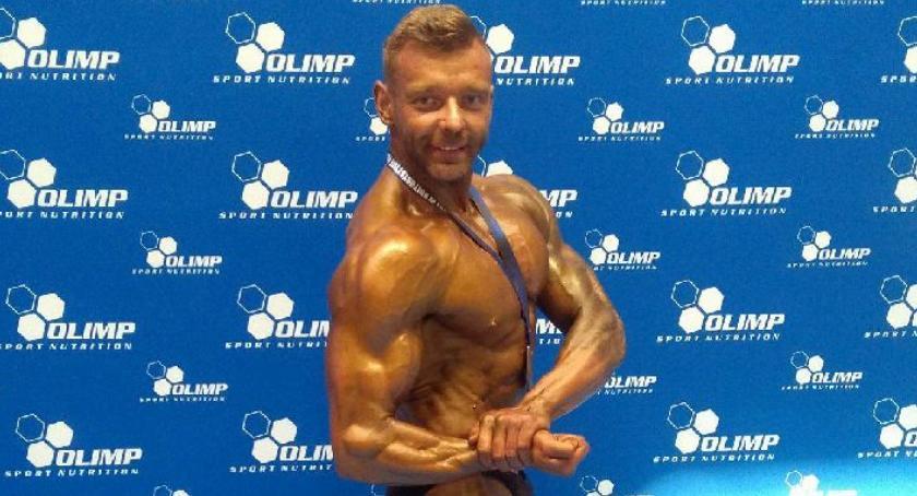kulturystyka, Marcin Bogucki kulturystycznym podium! - zdjęcie, fotografia