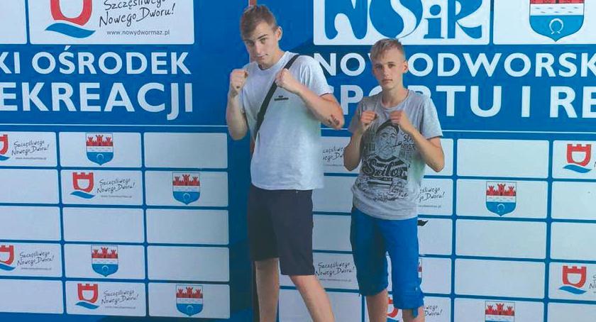 boks, boksowali Nowym Dworze - zdjęcie, fotografia