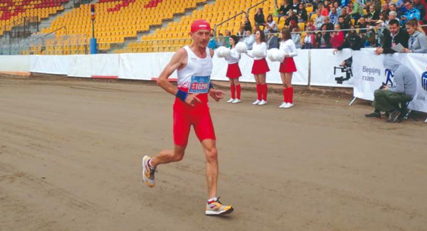 na trasach biegowych, Rekordowy Marka Dzięgielewskiego - zdjęcie, fotografia