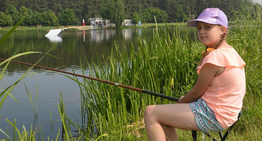 rekreacja, Wędkarski Dzień Dziecka szósty - zdjęcie, fotografia