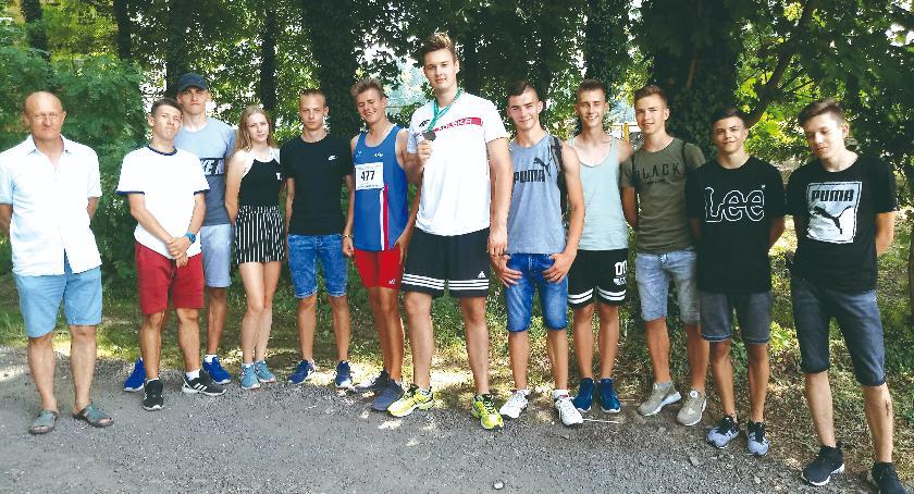 lekkoatletyka, Srebro Adama Kowalskiego mistrzostwach - zdjęcie, fotografia