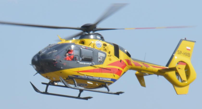 wypadki, osoby ranne wypadku siódemce - zdjęcie, fotografia
