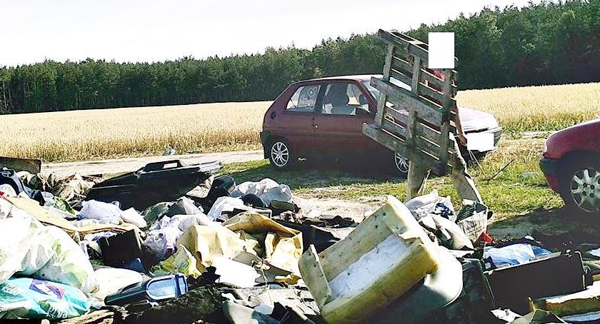 ekologia, Podrzucasz śmieci możesz fotopułapce - zdjęcie, fotografia