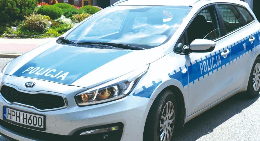 policja na drodze, Czwartkowa akcja - zdjęcie, fotografia
