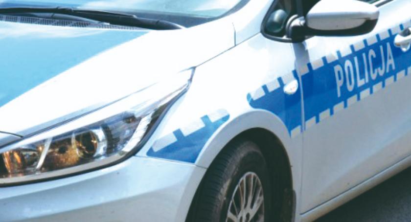 policja na drodze, Pijany dziesiątką - zdjęcie, fotografia
