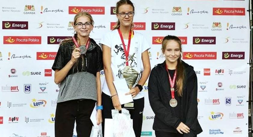 lekkoatletyka, Brąz Gorczyńskiej mistrzostwach Polski chodzie - zdjęcie, fotografia
