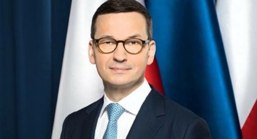 polityka, Premier Morawiecki poniedziałek odwiedzi Płońsk - zdjęcie, fotografia