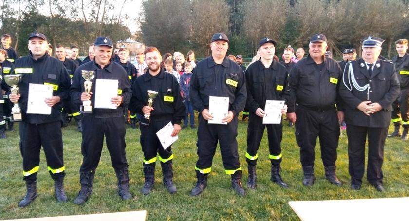 zawody strażackie, Zwycięstwo Słoszewo - zdjęcie, fotografia