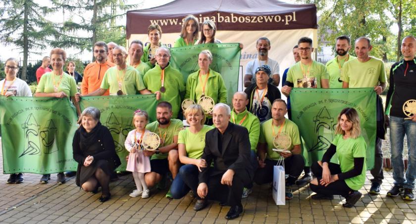 na trasach biegowych, Niedziela pamięci Marcina Kłoszewskiego - zdjęcie, fotografia