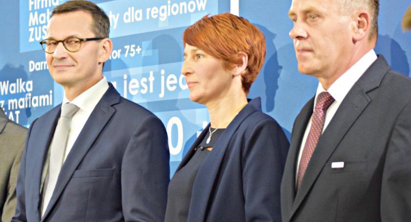 materiały komitetów wyborczych, Dotrzymujemy słowa rządzie dotrzymamy samorządzie! - zdjęcie, fotografia