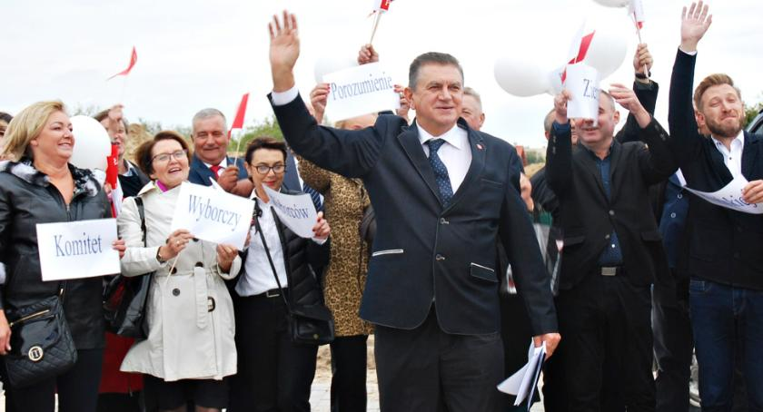wybory - wiadomości, Płońsku Pietrasik zdecydowanie pierwszej turze - zdjęcie, fotografia