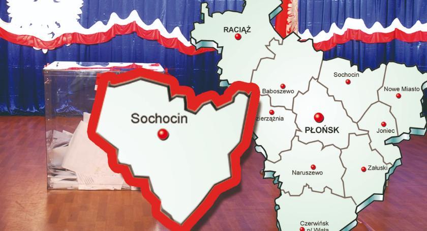 wybory - wiadomości, Skład nowej gminy Sochocin - zdjęcie, fotografia