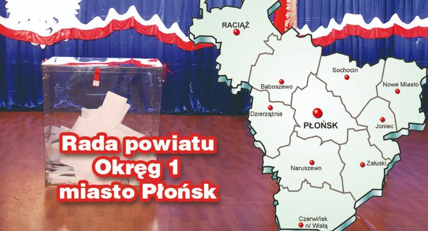 wybory - wiadomości, Nieoficjalnie radni powiatowi Płońska - zdjęcie, fotografia