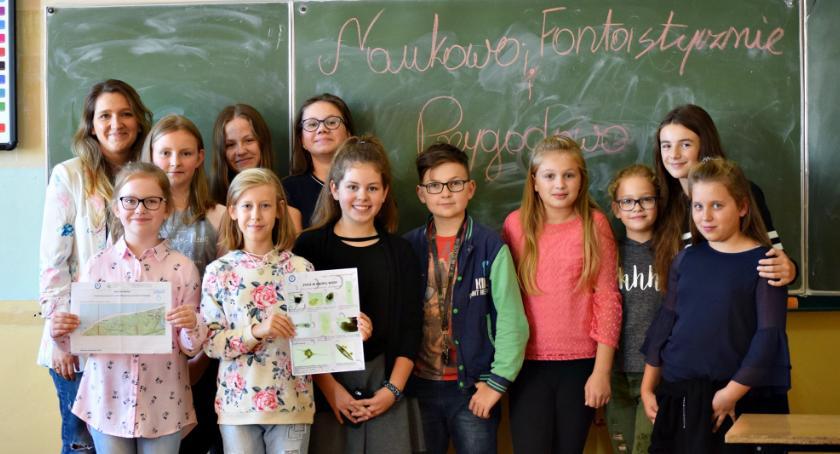 edukacja, Prawdziwa przygoda uczniów Kroczewa - zdjęcie, fotografia