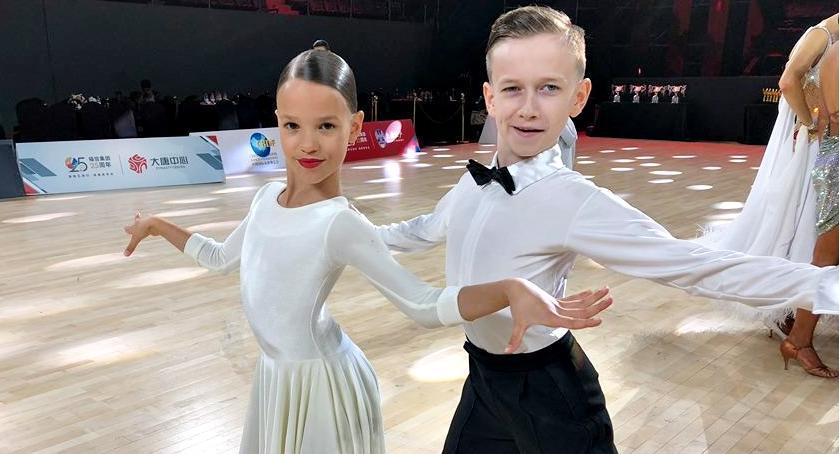 sukcesy, Nikola Bartek tanecznie podbili Chiny - zdjęcie, fotografia